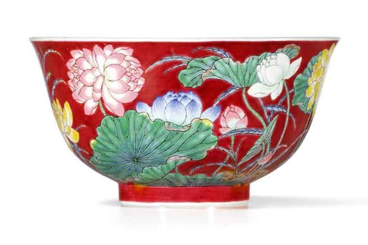 Bowl Sets Record for Kangxi Ceramics